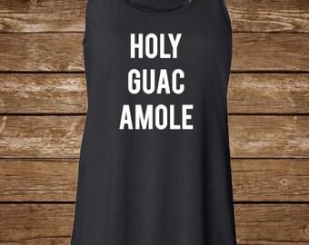 Holy Guacamole Tank, Bachelorette Tank, Mexican Bachelorette, Tequila, Tacos, Cinco de Mayo, Mexican Vacation, Taco Tuesday, Tequila, Tank