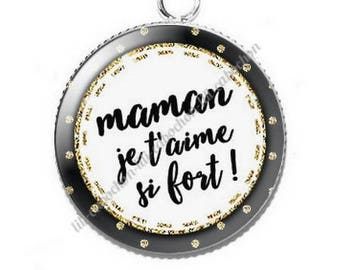 Resin cabochon pendant for MOM v8