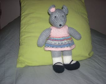 Wool grey mouse