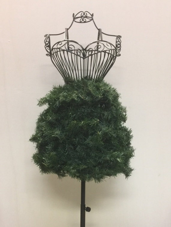 Adorn it Yourself Dress Form Christmas Tree Wire Frame with