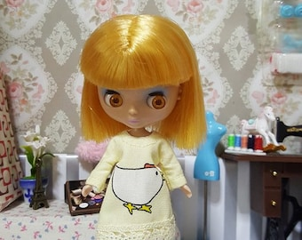132 # Petite Blythe / Little Dal  yellow Little chic