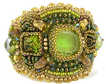 Maia Stina Bead Embroidery Bracelet Kit by Ann Benson