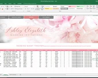 Wedding Guest List Organizer
