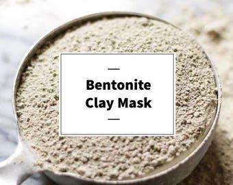 Organic Bentonite Clay Mask