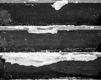 Texture Photography - Shutter - Fine Art - Black and White