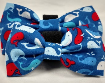 Blue Whales - Bow Tie or Flower