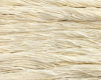 Hand dyed embroidery floss | natural dyed | buttermilk | embroidery thread | stranded cotton | vegan | eco friendly