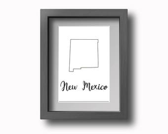 PRINTABLE New Mexico Wall Art