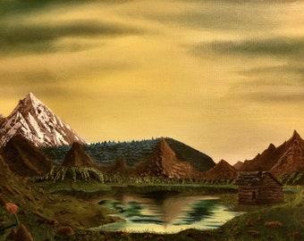 Landscape Yellow Oil
