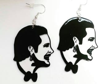 Dave Vanian The Damned punk earrings