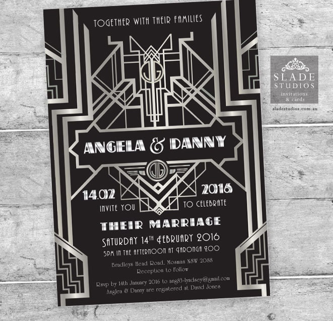 S Party Invitation All The Best Invitation In - 1920s party invitation template
