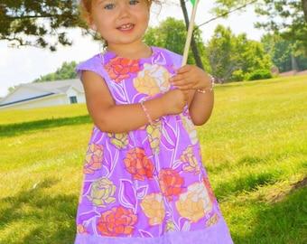 Playgroup Dress PDF Pattern. Girls Dress Pattern,  Girls Sewing Pattern, Sizes 12 mths to 10 years
