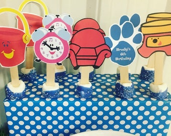 Blues Clues Cupcake/Dessert Toppers
