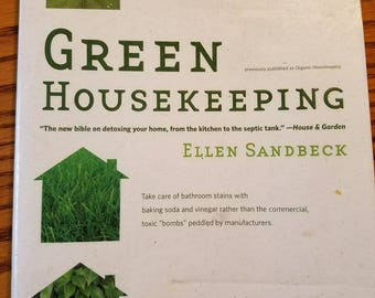 Green Housekeeping. THE BOOK to own for natural cleaning and remedies