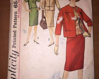 Simplicity Sewing Pattern 5144 Misses and Women's Suit and Overblouse Size 14