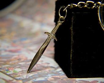 Sting Sword \ Bilbo Sword  from Lord Of The Rings \ Frodo Sword \ Hobbit Sword \LOTR Fan Art Jewelry \ Gift for geek