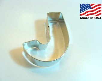 Capital Letter J Cookie Cutter