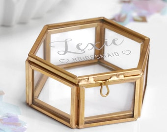 Custom jewelry box Etsy