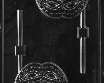 LOPM-158 - Masquerade Mask  Chocolate Lollipop Mold