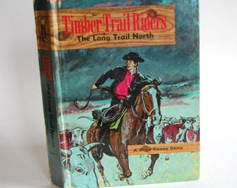 Vintage Children's Book, The Long Trail North