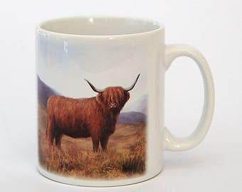 Highland Cow 10oz Mug