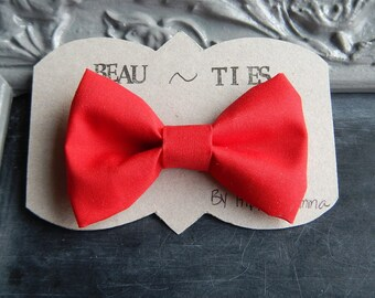 Baby Boy Toddler clip-on bow tie christmas holiday