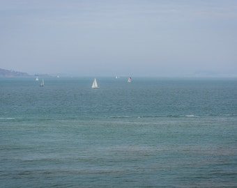 Sailboats on San Francisco Bay - San Francisco, CA