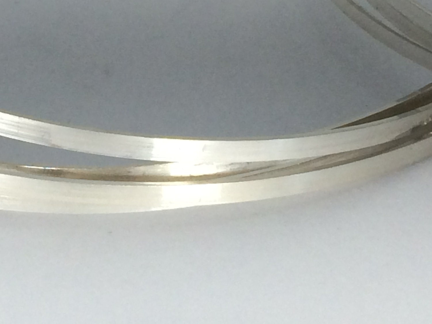 12 inch flat wire, sizing stock wire, silver wire, sterling silver ...
