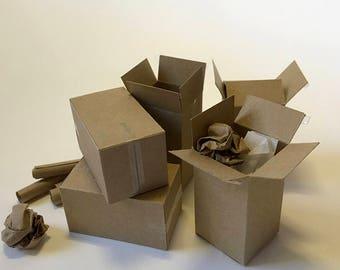FF24 Miniature Boxes; 1:12 Scale Kit