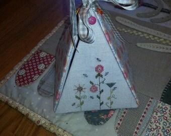 Pyramid Sewing Box