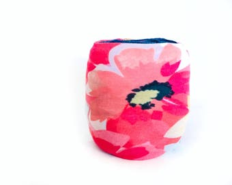 Floral Yarn Bowl- Yarn holder- Yarn Organizer- Yarn Storage- Spring Yarn Cozy- Crochet Accessories- Yarn Holder- Skein Coats- Knitting