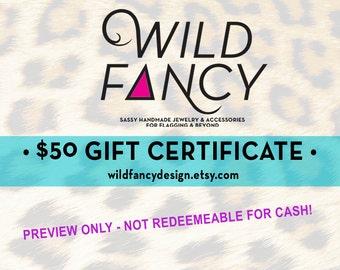 Gift Certificate - 50 bucks