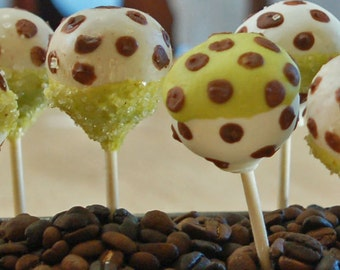 CAKE POPS, Fun Pola Dots Cake Pops