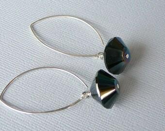 Jet Black Earrings For Your Little Black Dress