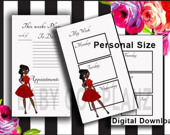 Personal Size Inserts Red Dress