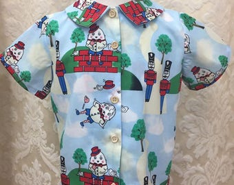 Boys Humpty Dumpty shirt