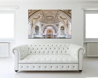 Pantheon Large wall art, Paris photography, Paris bedroom decor, French home Decor, large canvas art print, neutral wall art print