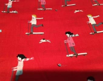 1 Yard of Aneela Hoey Moda Sherbet Pips Fabric