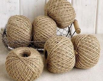 ball of hemp twine natural 30 m