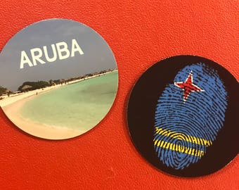 Set of 2 ARUBA Magnets