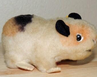 """STEIFF Mohair Guinea Pig """"Swinny"""""""