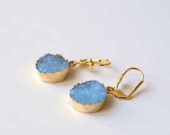 CALLIOPE blue earrings
