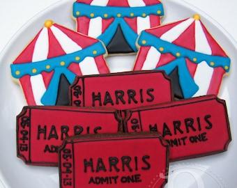 Circus Cookie Platter