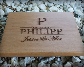 Personalized Cutting Board - Engraved - Custom Cutting Board - Personalized Wedding Gift - Housewarming Gift - Anniversary Gift - Engagement