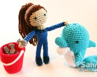 Free Amigurumi Dolphin Pattern : Pattern troll poppy dolls from the trolls cartoon doll toy