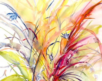 Spring Giclee Print of Original Watercolor