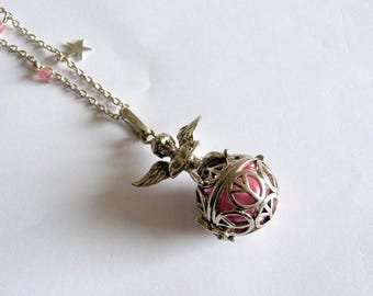 Bola pregnancy Angel, pink bead