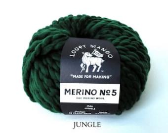 Loopy Mango - Merino No. 5 - Jungle