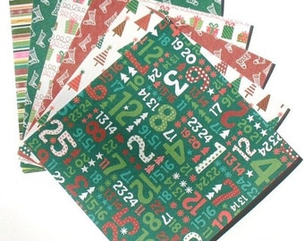 25% OFF - Holiday Cheer - 6x6 Forever In Time Paper Pack