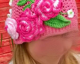 Little Girl's Cloche Hat